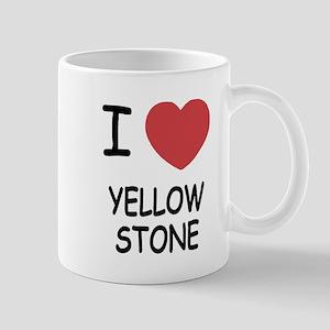 I heart yellowstone Mug