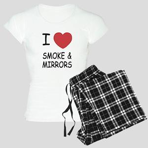 I heart smoke and mirrors Women's Light Pajamas