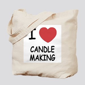 I heart candle making Tote Bag