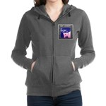 Women's Zip-Up Hoodie Sweatshirt