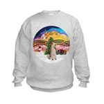 XMusic2-Wire Fox Terrier Kids Sweatshirt