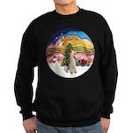 XMusic2-Wire Fox Terrier Sweatshirt (dark)