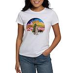 XMusic2-Wire Fox Terrier Women's T-Shirt