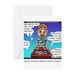 Jewish Kids Toys: Kvetch A Sketch Greeting Cards (
