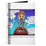 Jewish Kids Toys: Kvetch A Sketch Journal