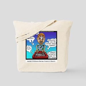 Jewish Kids Toys: Kvetch A Sketch Tote Bag