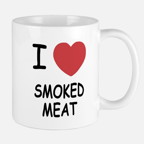 I heart smoked meat Mug