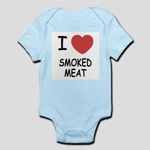 I heart smoked meat Infant Bodysuit