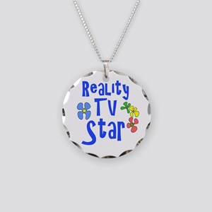 Reality TV Star Necklace Circle Charm
