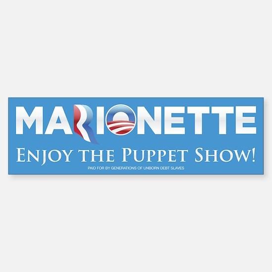 Marionette 2012 Sticker (Bumper)