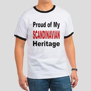 Proud Scandinavian Heritage (Front) Ringer T