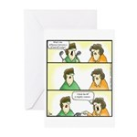 GOLF 050 Greeting Cards (Pk of 20)