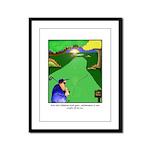 GOLF 023 Framed Panel Print