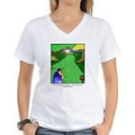 GOLF 023 Women's V-Neck T-Shirt