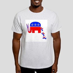 I Smell A Democrap - Ash Grey T-Shirt