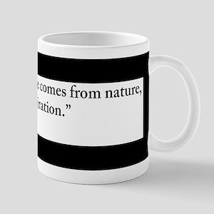 Claude Monet Nature quote Mug