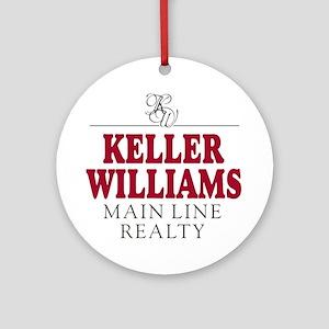 Keller Williams Mugs Ornament (Round)