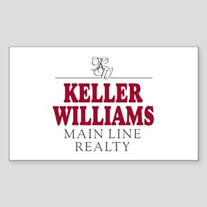 Keller Williams Mugs Sticker (Rectangle)