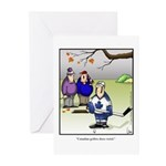 GOLF 039 Greeting Cards (Pk of 10)