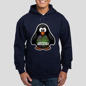 Abercrombie Tartan Penguin Hoodie (dark)