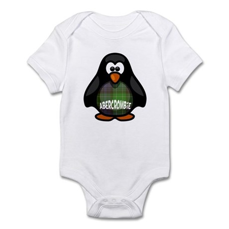 Abercrombie Tartan Penguin Infant Bodysuit