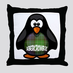 Abercrombie Tartan Penguin Throw Pillow
