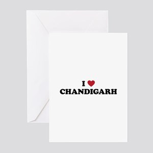 I Love Chandigarh Greeting Cards (Pk of 20)