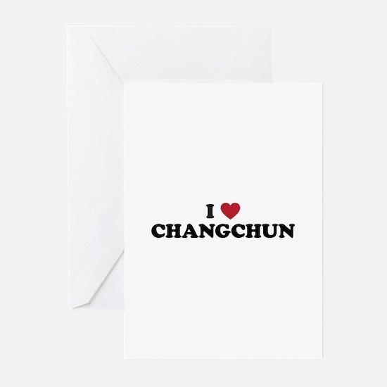 I Love Changchun Greeting Cards (Pk of 20)
