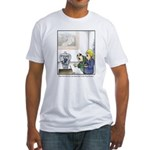 GOLF 073 Fitted T-Shirt