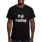 fracking Men's Fitted T-Shirt (dark)