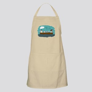 Trouble on Deck Apron