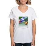 GOLF 069 Women's V-Neck T-Shirt