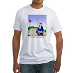 GOLF 052 Fitted T-Shirt