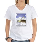 GOLF 062 Women's V-Neck T-Shirt