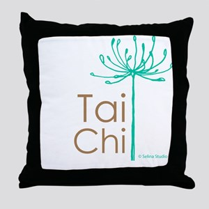 """Tai Chi Growth 2""' Throw Pillow"