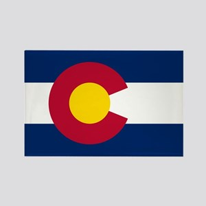 Colorado State Flag Rectangle Magnet (10 pack)