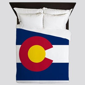 Colorado State Flag Queen Duvet