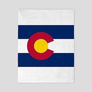 Colorado State Flag Twin Duvet