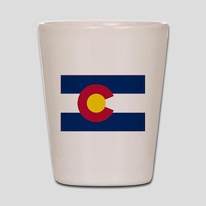 Colorado State Flag Shot Glass