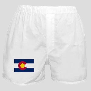 Colorado State Flag Boxer Shorts