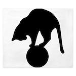 Black Cat King Duvet