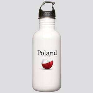 Soccer ball-poland Stainless Water Bottle 1.0L