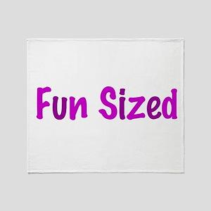 Fun Sized Throw Blanket