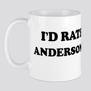 Rather: ANDERSON VALLEY Mug