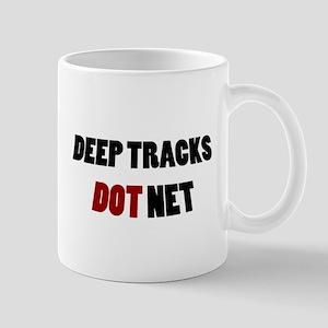 Deep Tracks Red Dot Mug