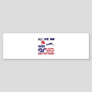 USA Swimming Designs Sticker (Bumper)