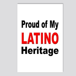 Proud Latino Heritage Postcards (Package of 8)