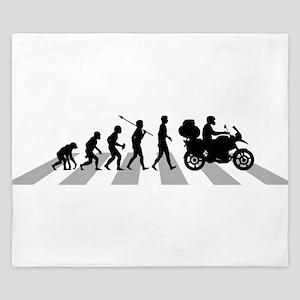 Motorcycle Traveller King Duvet