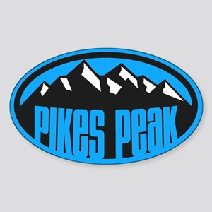 Pikes Peak Sticker (Oval)