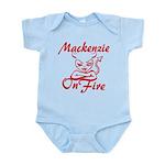 Mackenzie On Fire Infant Bodysuit